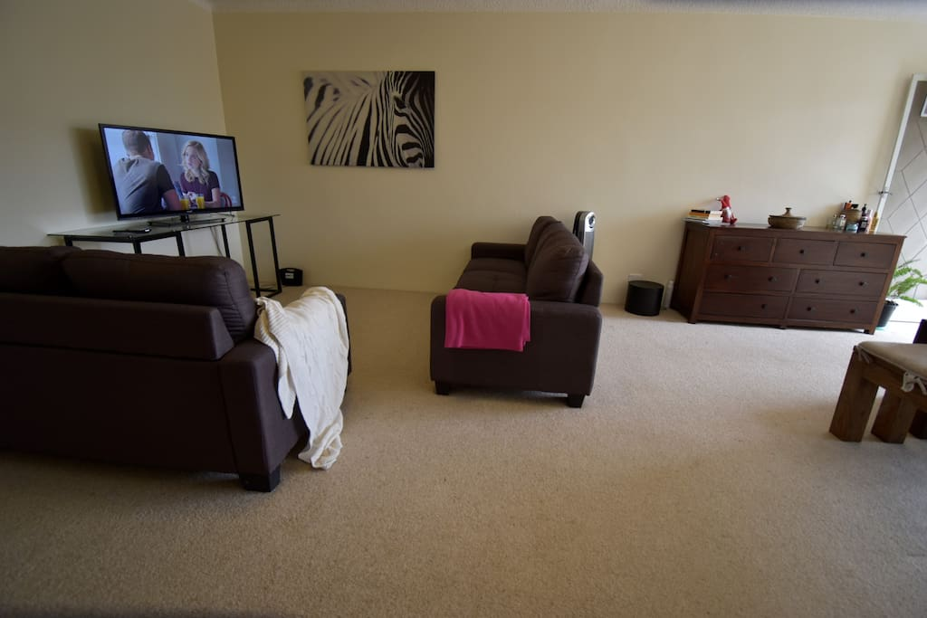 TV area - guests welcome to chill out here