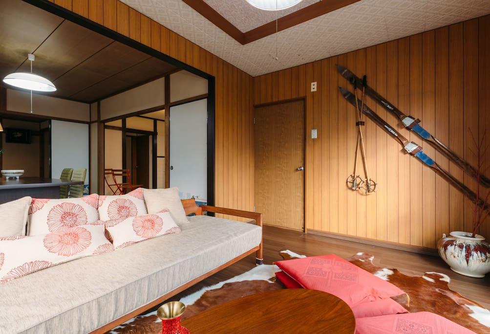 Ground floor spacious living room