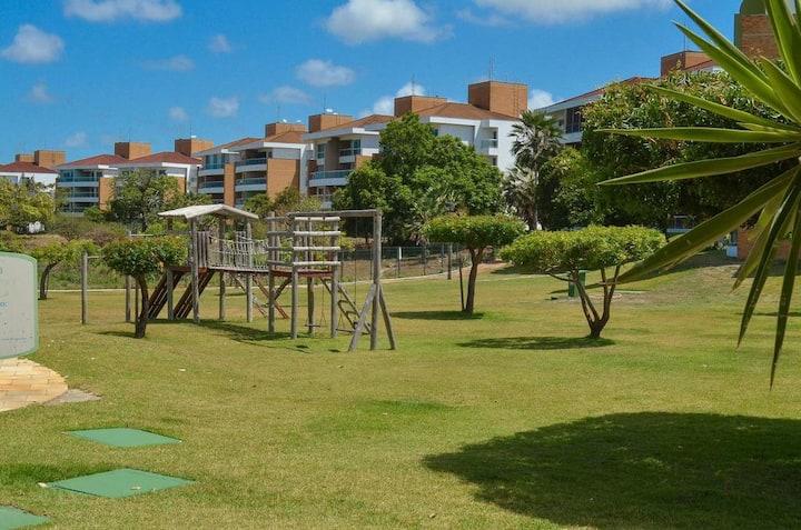 Amplo apartamento no Catu Lake Residence