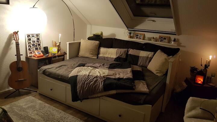 Gemütliche kleine Wohnung mit Blick auf Heidelberg