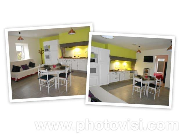 Appartement en plein coeur de l'Auvergne avec WIFI - Saint-Sauves-d'Auvergne - Apartment