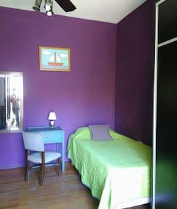 Habitación con balcón, desayuno, living, terraza - Buenos Aires - House