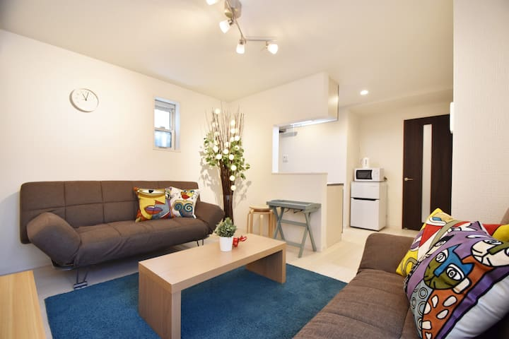 Private&Comfy Ikebukuro 10min 7ppl!! Spacious! #1