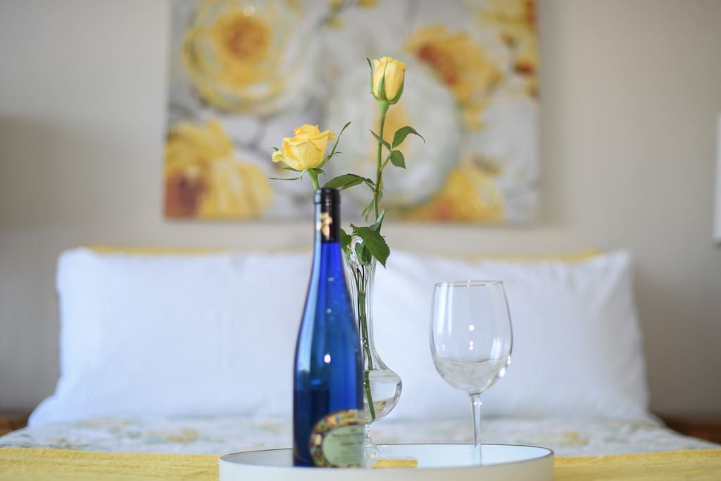 Enjoy a glass of wine!