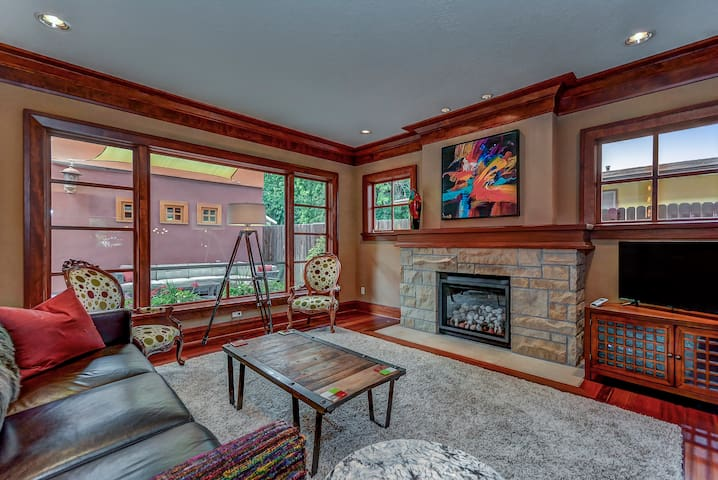 Custom Home With Two Master Suites