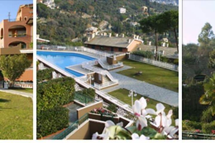 Bilocale vista mare  Golfo Rapallo - Rapallo - Appartamento
