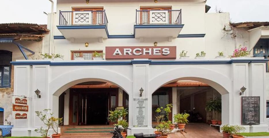 Private Rooms At Arches Fort Kochi