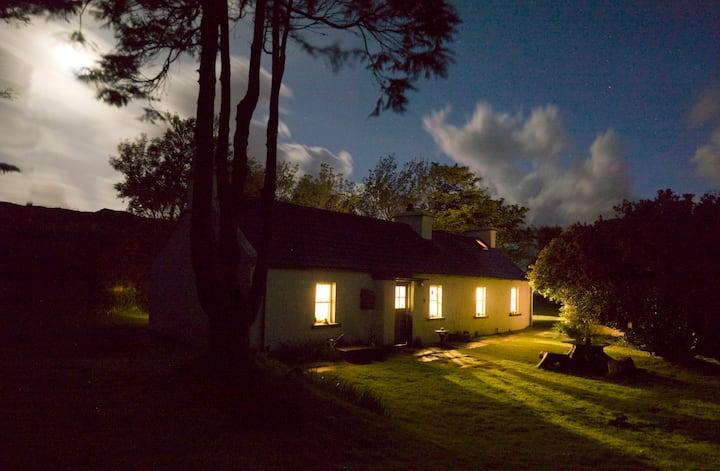 Traditional radiant Irish cottage