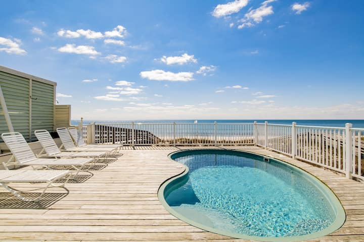 Castle In The Sand West Orange Beach Al 9 Bdrm Private Pool Houses For Rent In Orange Beach Alabama United States