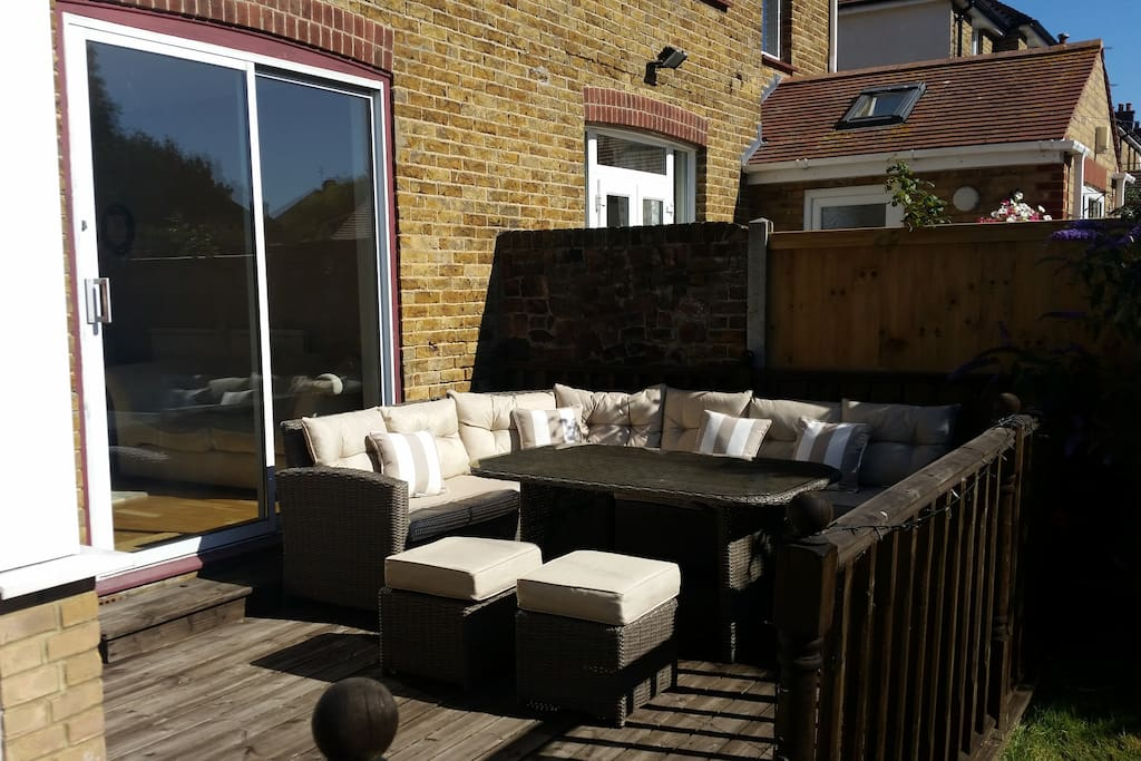 Decking and furniture