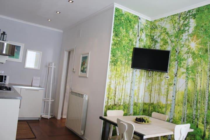 Le Betulle, wifi e posto auto - Trieste - Apartemen
