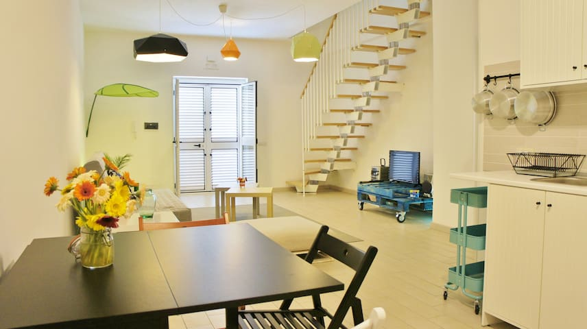 Studio-Apartment few steps from the beach (300mt) - Rossano - Byhus