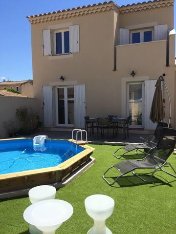 Maison 6 personnes au cœur du village avec piscine - Pernes-les-Fontaines - Casa