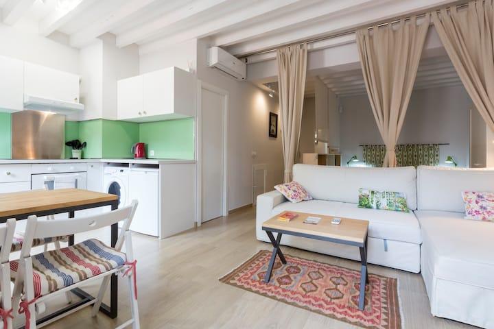 Palma old town loft TI/112 Olivo: bright and calm