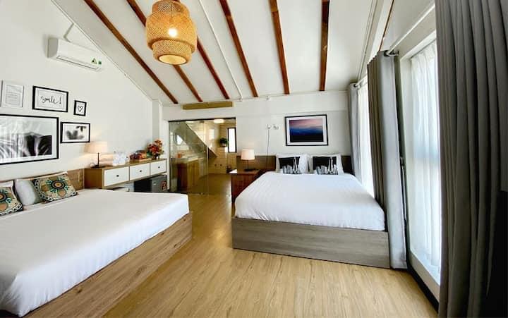 Daisy House * Rooftop Room * Phòng 4 Người