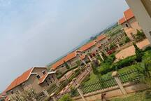 Glimpse of the Mirembe Villas Gated community were the house is located