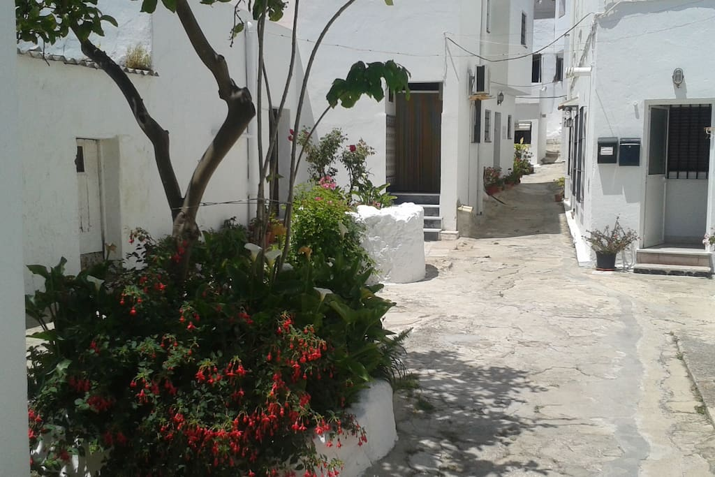 La casita del patio del limonero casas para alugar em for Casitas de patio para almacenar