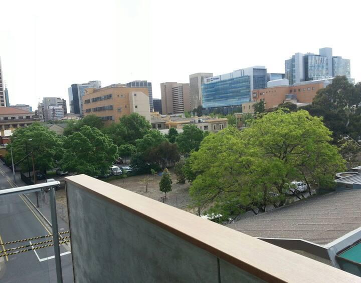 City & hills views new apartment