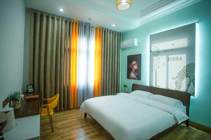 湄洲岛六十八号北欧简约风温馨大床房免费接送码头201