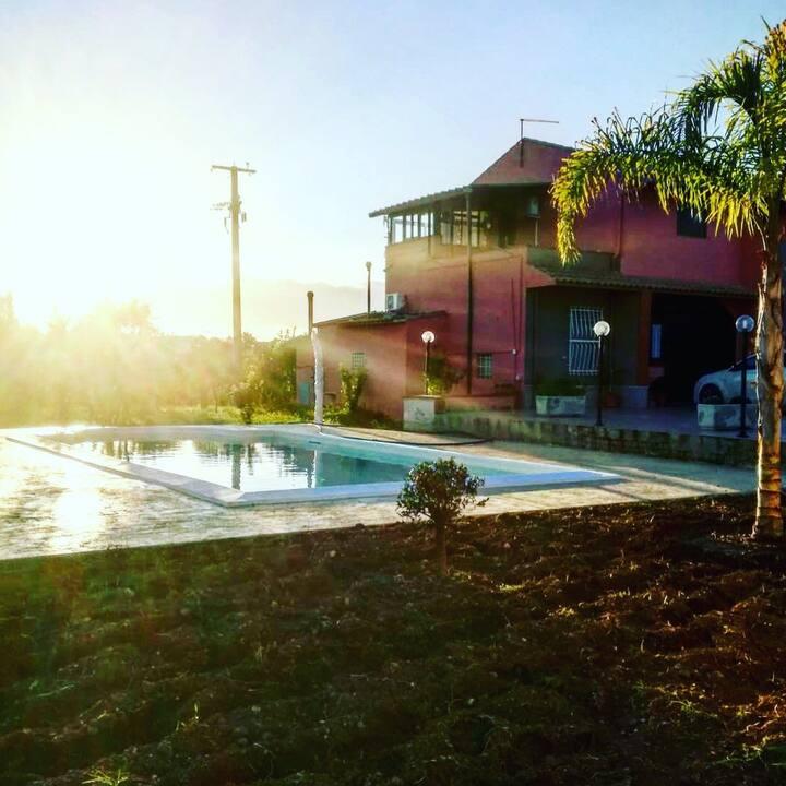 Villa Nerina 1 appartamento con piscina