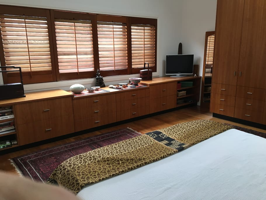 Private  spacious Master bedroom, king bed on second floor