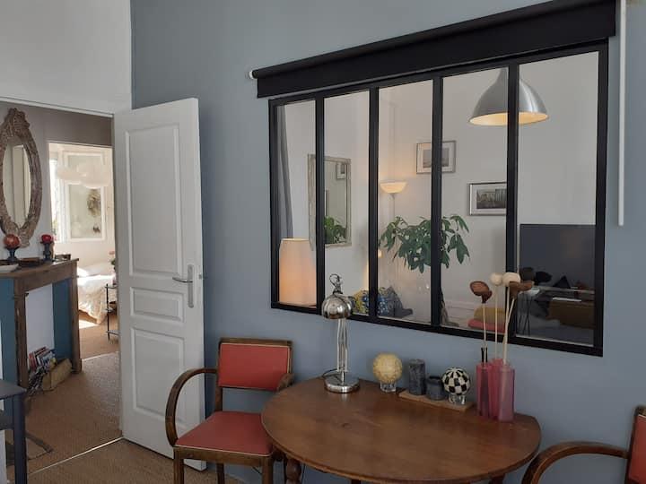 Appartement cosy et lumineux de 2 chambres