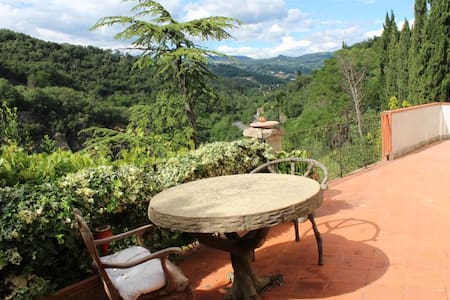 Fiesole  Villa with park in a magical place - 菲耶索莱(Fiesole) - 别墅