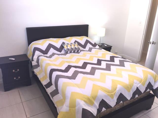 Bedroom #2 with Queen Size Bed