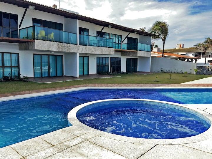 Casa na Beira mar de Porto de Galinhas.
