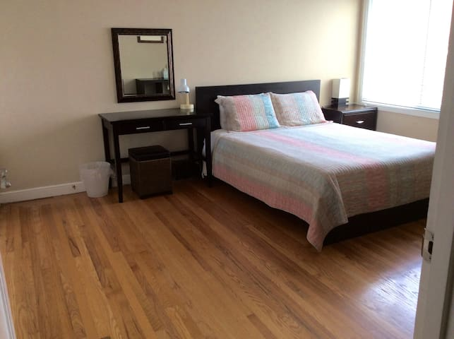 Spacious and quiet room with free private parking