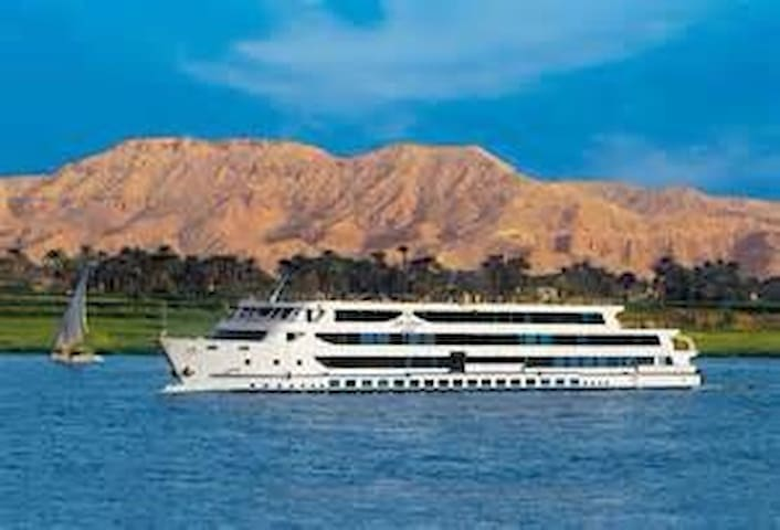 5* Nile cruise ship+All Meals+Excursions