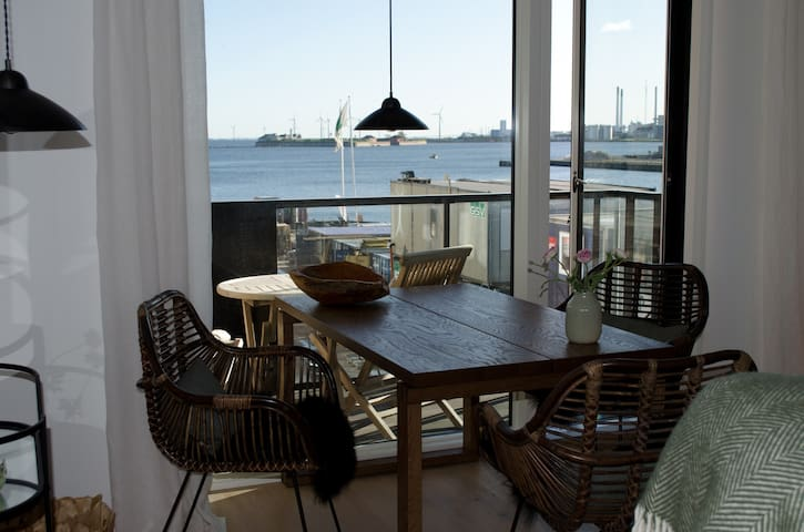 Brand new cozy apartment on the waterfront