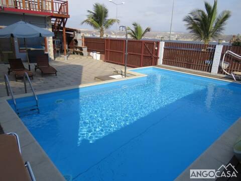 Excelente Apartamento T1 com piscina no Lobito