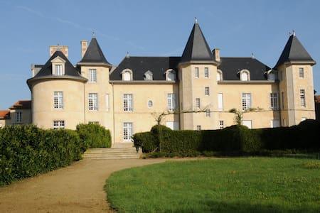 Chambres au château de la Bergelière - La Flocellière - Bed & Breakfast