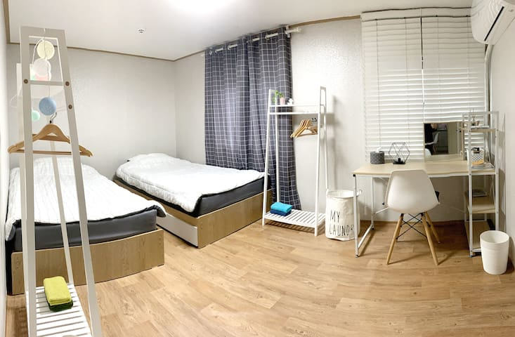 Double room A (Jeju Gimnyeong/ women only)