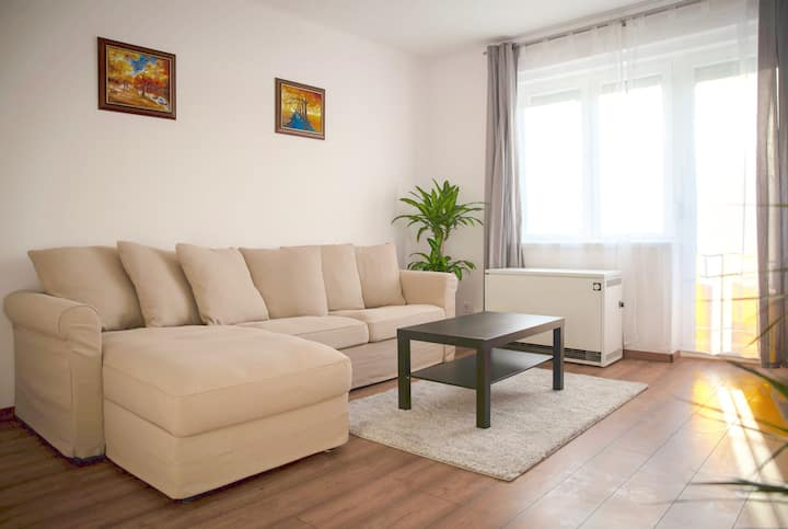 ★55m2 apartment / Free parking / 2min VitalEurope★
