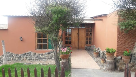 Huanchaquito lodge casa
