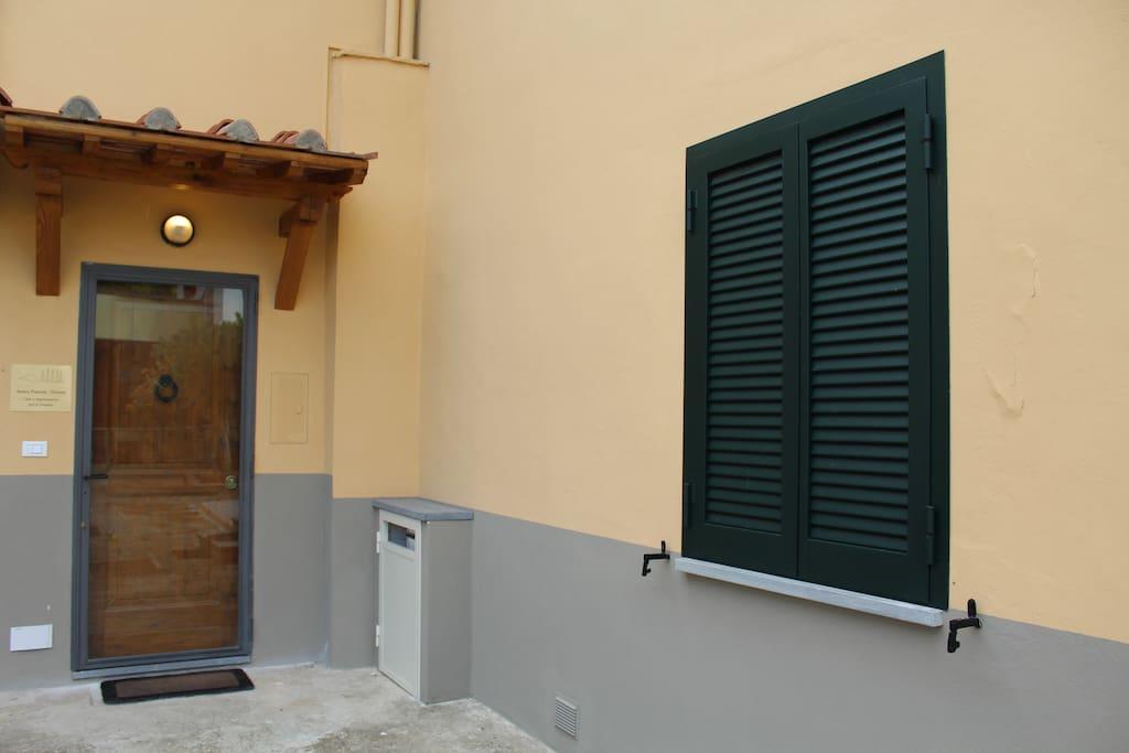 ingresso appartamento B