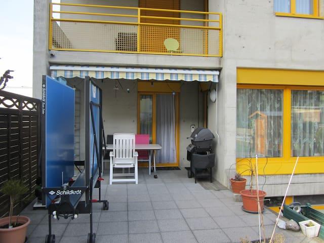 Doppelzimmer in Haus mit Zugang zum Garten - Luzern - Ev