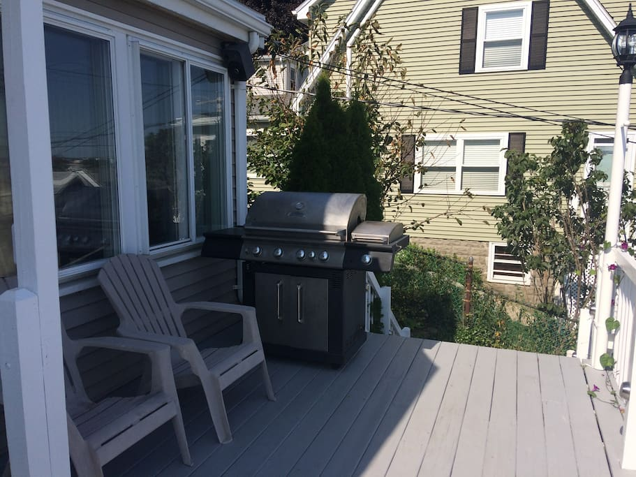 You are welcome to use our grill!