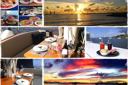 ALL INCLUSIVE YACHT - CRUISING for extra fee - Baie de Marigot
