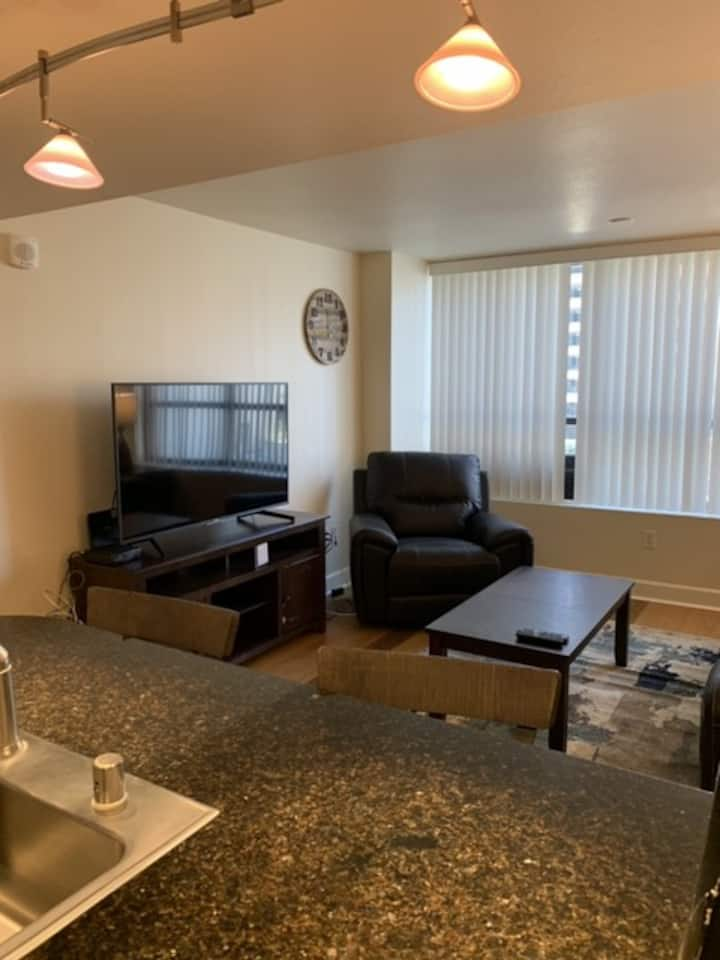 Comfortable and Quiet 1 bedroom condo.