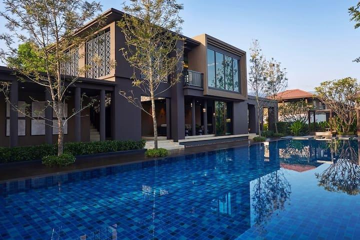 YJ house in Burasiri - 조용하고 고급스러운 타운하우스의 2층 단독주택