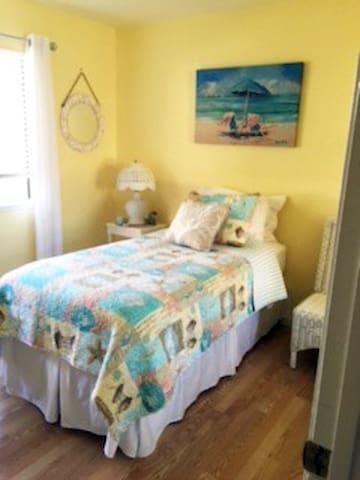 Bright cheery room in quiet condo