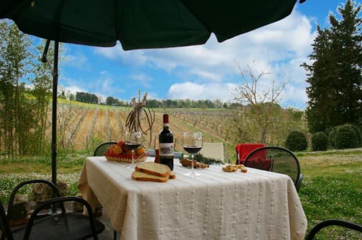 Appartamento Indipendente nella Campagna Toscana