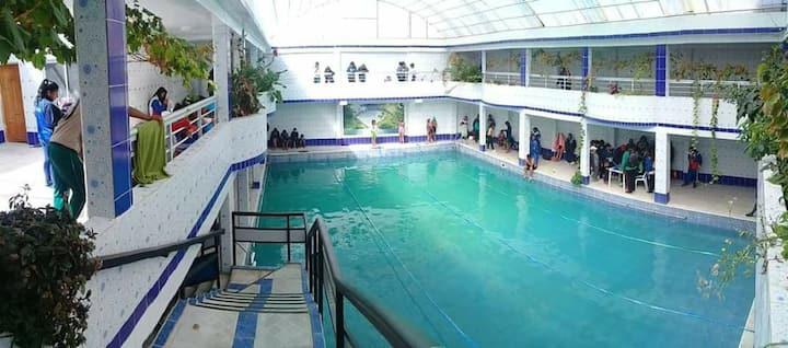 Casa sauna- piscina Avaroa