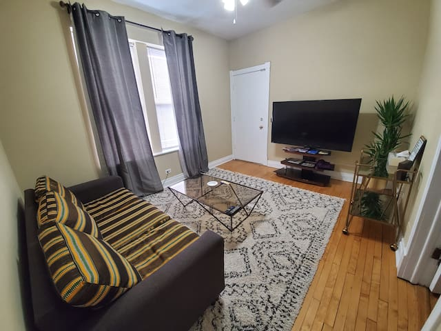 Cozy 2BR Apartment Near Downtown, UIC & Rush