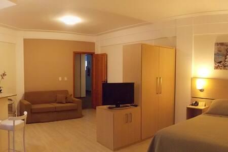 Apartamento Flat Casal + Sofá Cama - Itajubá