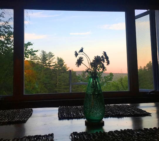 Dusk at the dining table