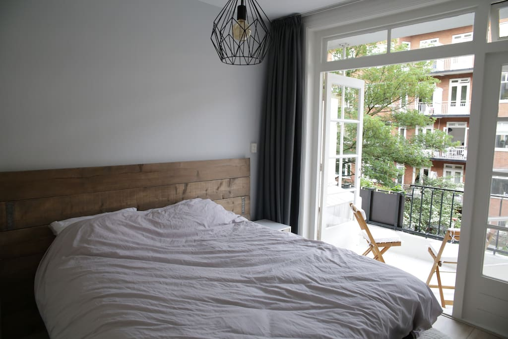 First bedroom with balcony